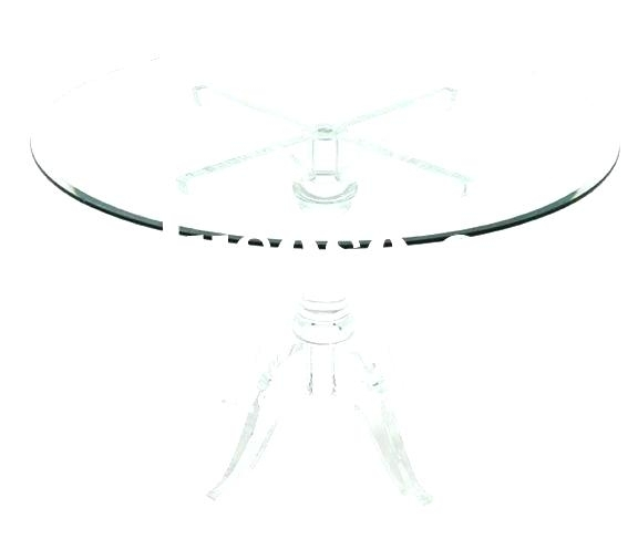 Decoration: Clever Design Acrylic Round Dining Table Home Dazzling Within Acrylic Round Dining Tables (View 8 of 25)
