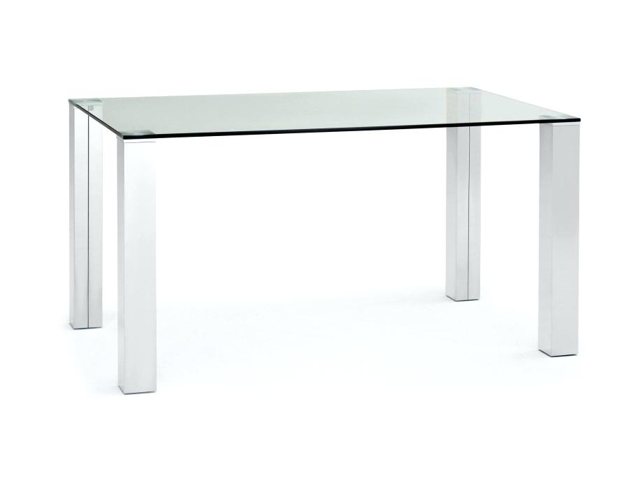 Decoration: Glass And Stainless Steel Dining Table Chrome With Top With Regard To Glass And Stainless Steel Dining Tables (Image 6 of 25)