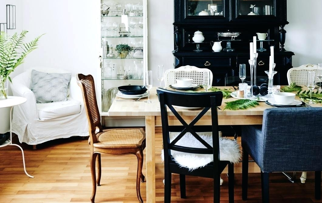 Decoration: Ikea Round Dining Table Set In Ikea Round Dining Tables Set (Image 5 of 25)