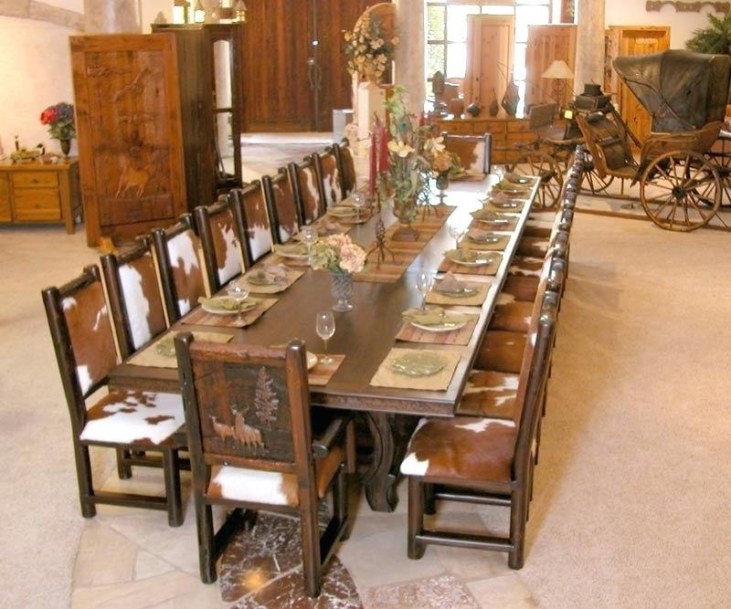 Decoration: Large Dining Tables Regarding Big Dining Tables For Sale (Image 13 of 25)
