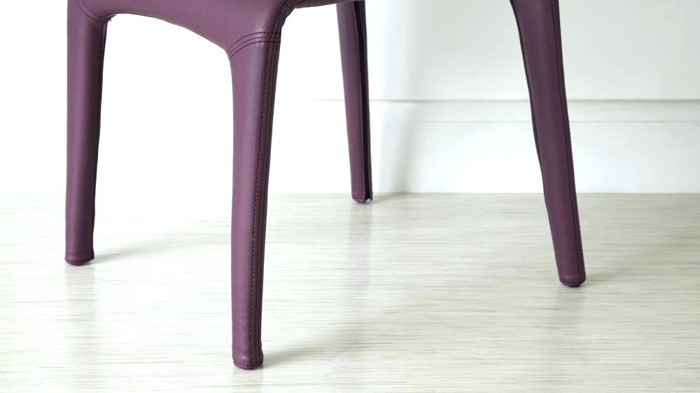 Decoration: Modern Purple Dining Chairs Chair Faux Leather Room In Purple Faux Leather Dining Chairs (Image 7 of 25)