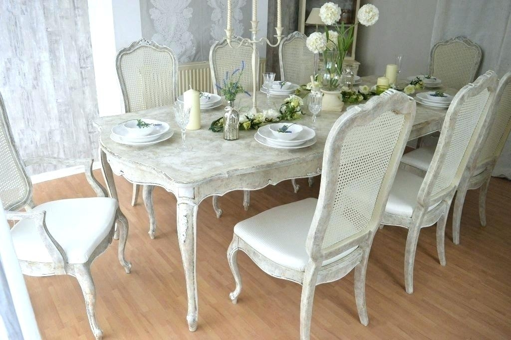 Decoration: Shabby Chic Dining Chair Slipcovers intended for Shabby Chic Dining Chairs