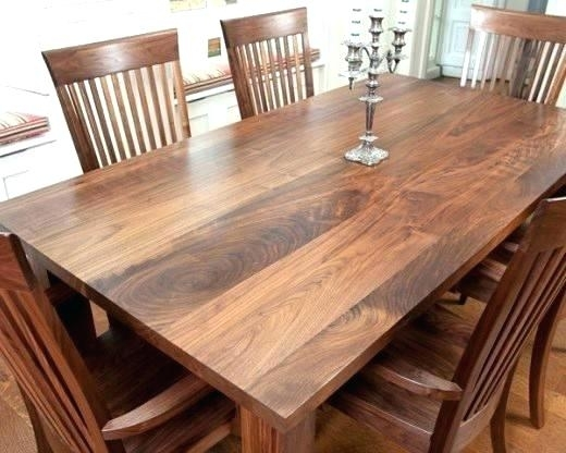 Decoration: Walnut Dining Room Chairs Table And Antique (Image 6 of 25)