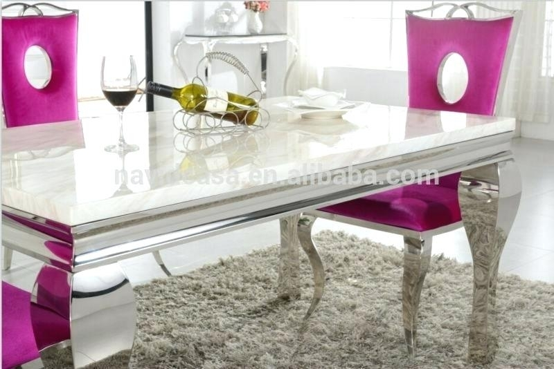 Decoration: Wholesale White Marble 8 Dining Table And Chair Buy With Pertaining To White Dining Tables 8 Seater (Image 10 of 25)