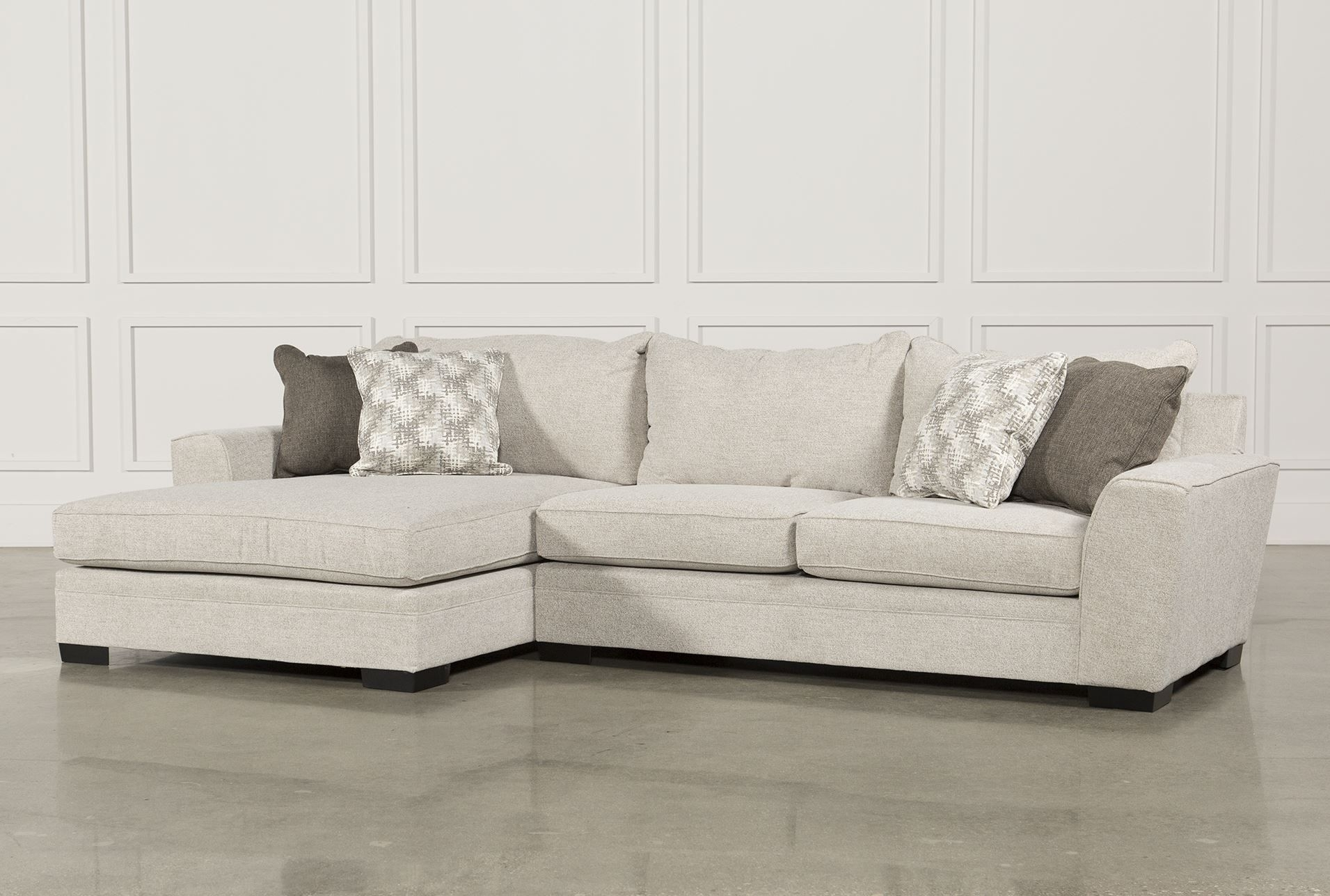 Delano 2 Piece Sectional W/laf Oversized Chaise | Living Room Pertaining To Delano 2 Piece Sectionals With Laf Oversized Chaise (Image 9 of 25)
