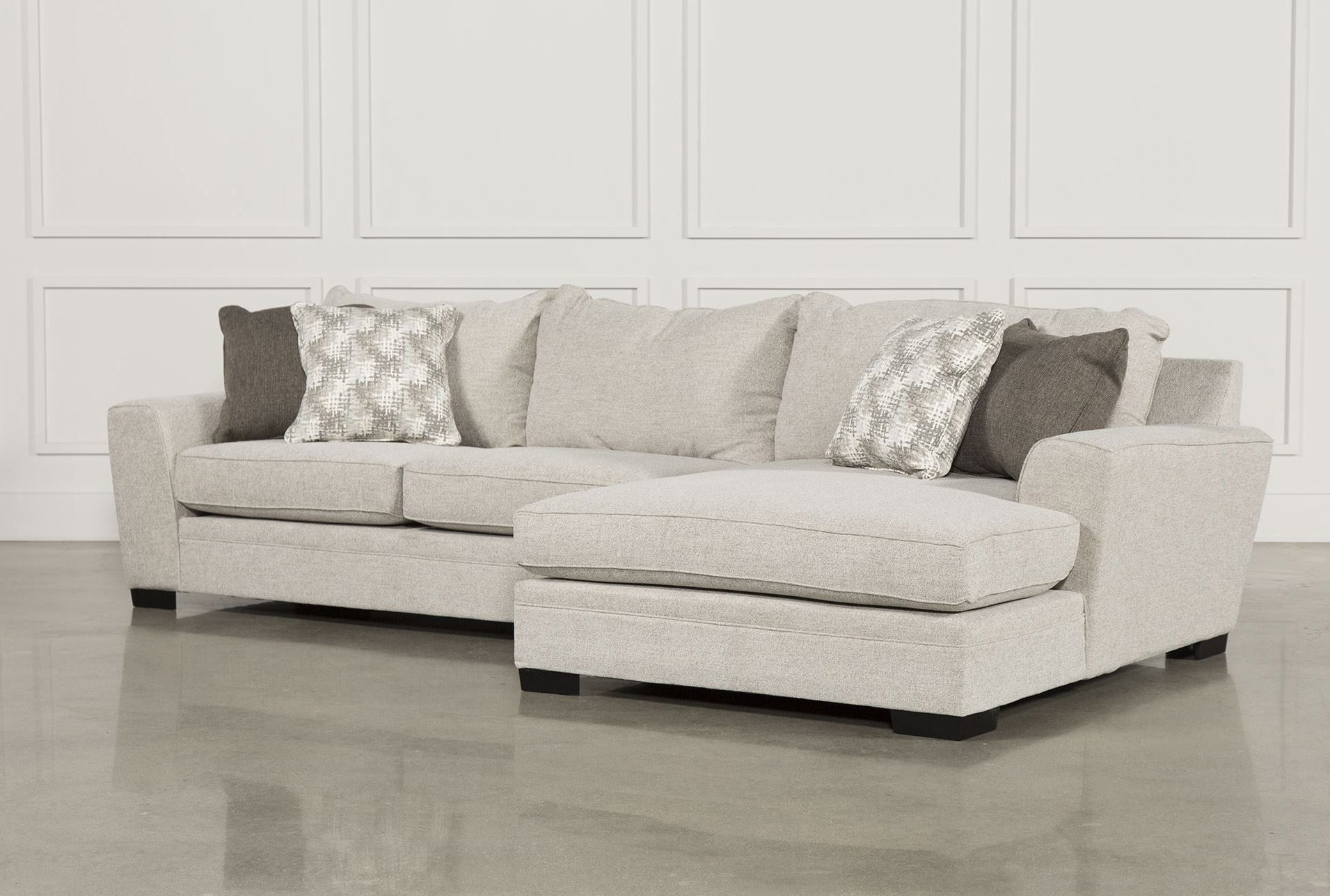Delano 2 Piece Sectional W/raf Oversized Chaise | Furniture Within Malbry Point 3 Piece Sectionals With Laf Chaise (View 7 of 25)