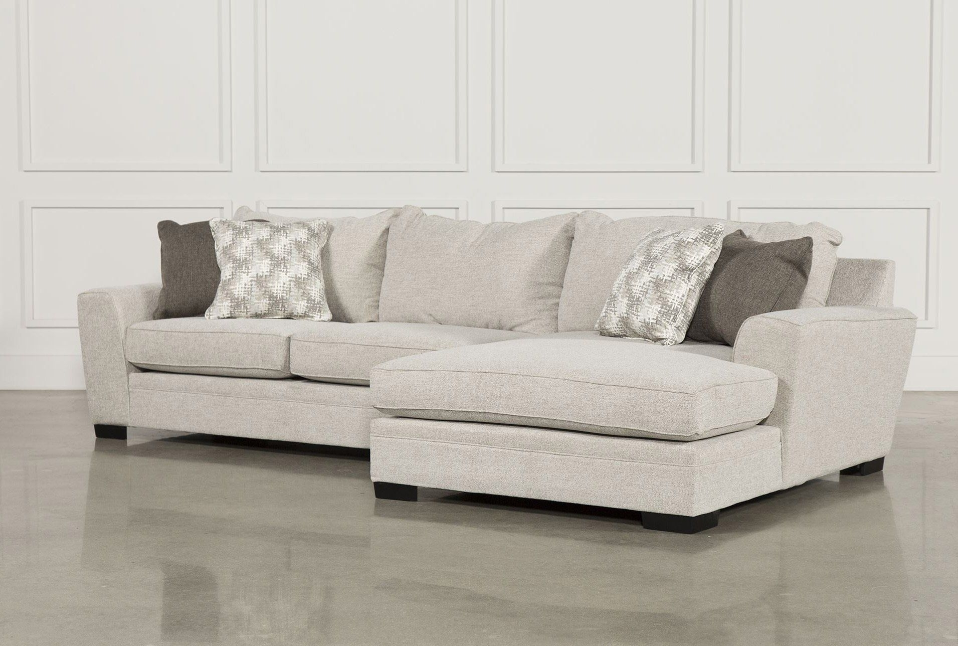 Delano 2 Piece Sectional W/raf Oversized Chaise | Products For Aspen 2 Piece Sleeper Sectionals With Laf Chaise (Image 11 of 25)