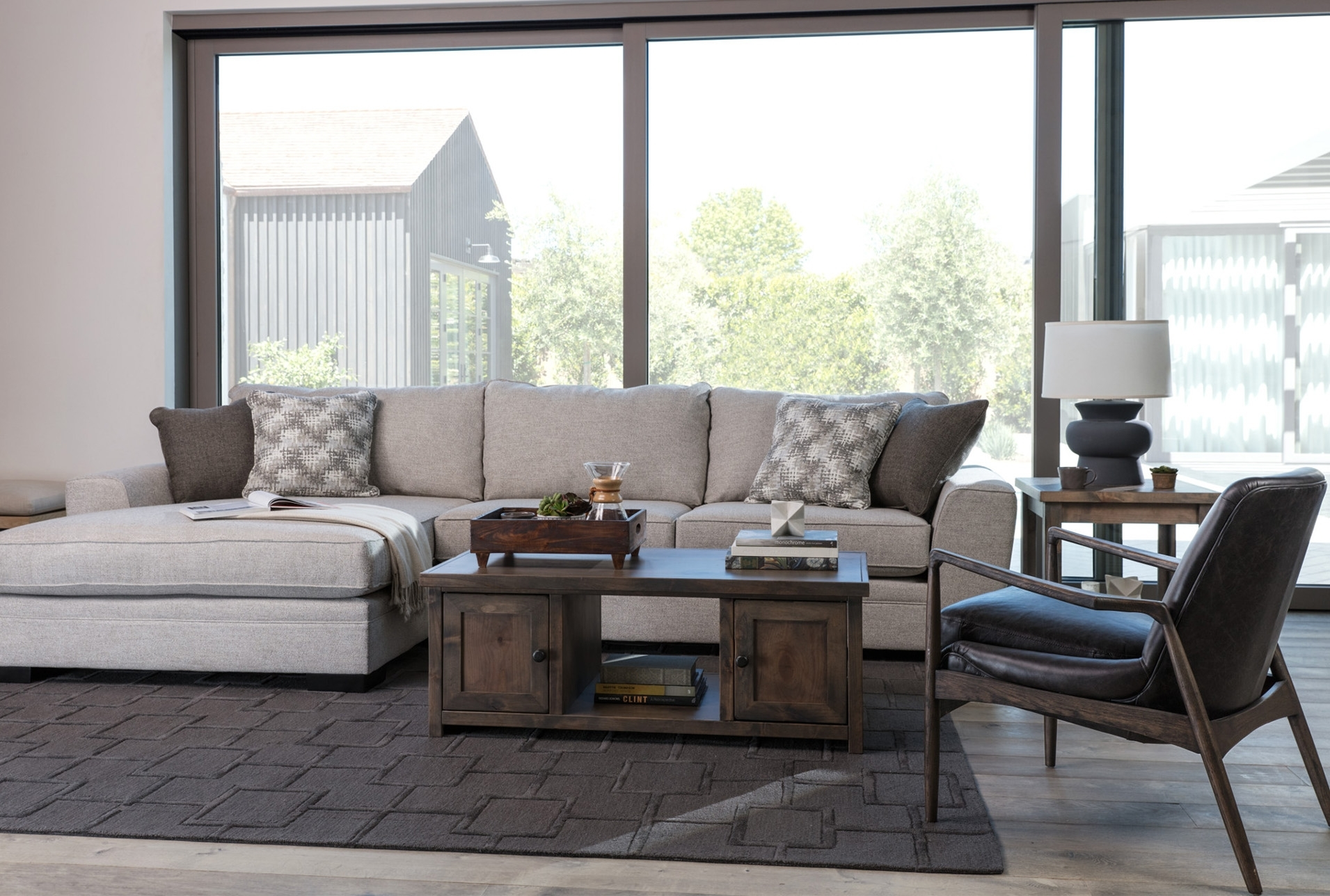 Delano 2 Piece Sectional W/raf Oversized Chaise | Products Throughout Delano 2 Piece Sectionals With Raf Oversized Chaise (Image 14 of 25)