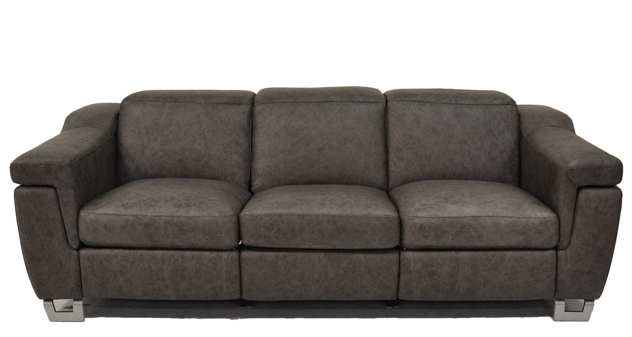 Delano • Texas Leather Interiors Furniture And Accessories Intended For Travis Dk Grey Leather 6 Piece Power Reclining Sectionals With Power Headrest & Usb (Image 10 of 25)
