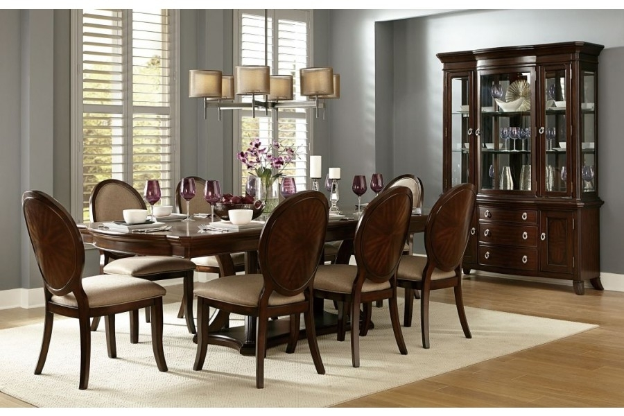 Delavan Dining Sethomelegance Furniture 5251-108 | Home Elegance Usa regarding Caira 7 Piece Rectangular Dining Sets With Upholstered Side Chairs