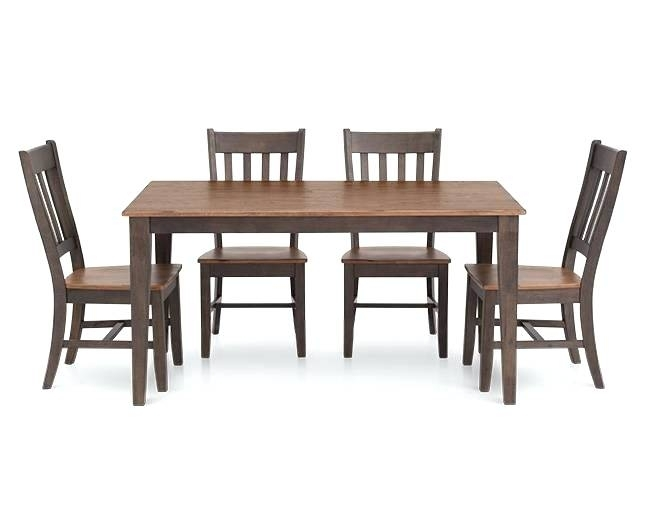 Delectable Rectangle Dining Room Tables Table With Leaf Tablecloth Inside Helms 6 Piece Rectangle Dining Sets With Side Chairs (Image 8 of 25)