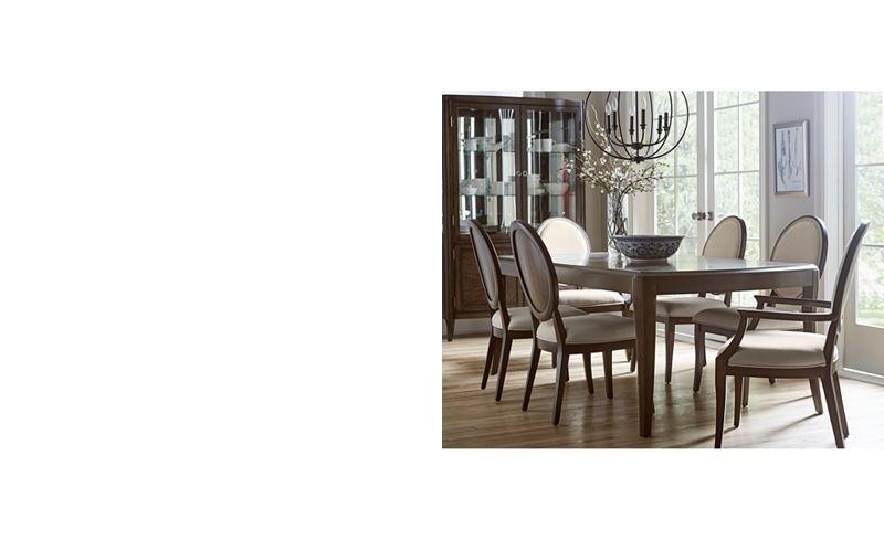 Delfina Dining Furniture, 7-Pc. Set (Expandable Leg Dining Table, 4 regarding Delfina 7 Piece Dining Sets