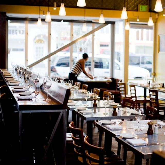 Delfina Restaurant – San Francisco, Ca | Opentable Within Delfina Dining Tables (Image 11 of 25)