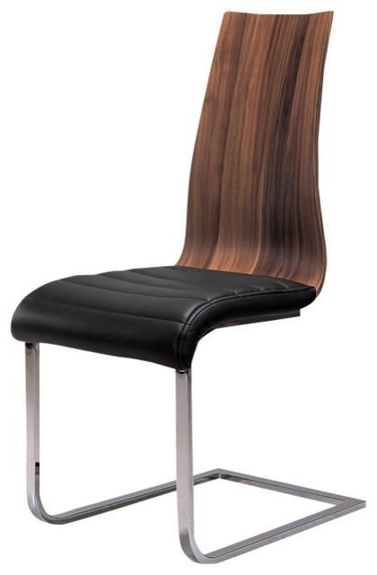 Delfina Veneer Dining Chair, Set Of 2 – Contemporary – Dining Chairs Within Delfina Dining Tables (View 19 of 25)