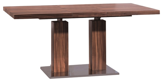 Delfina Veneer Dining Table – Modern – Dining Sets  Casaat Intended For Delfina Dining Tables (Image 14 of 25)