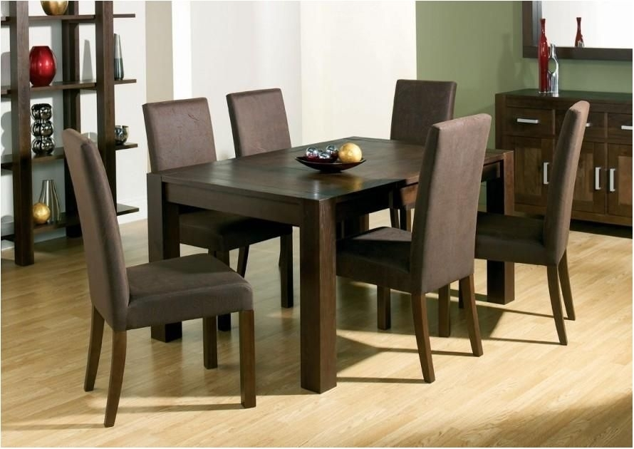 Delightful Top 20 Dark Brown Wood Dining Tables Dining Room Ideas Within Dark Brown Wood Dining Tables (Image 15 of 25)