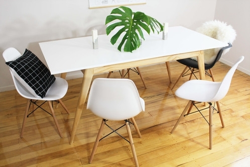 Deluxe Retro Dining Table Intended For Scandinavian Dining Tables And Chairs (View 16 of 25)