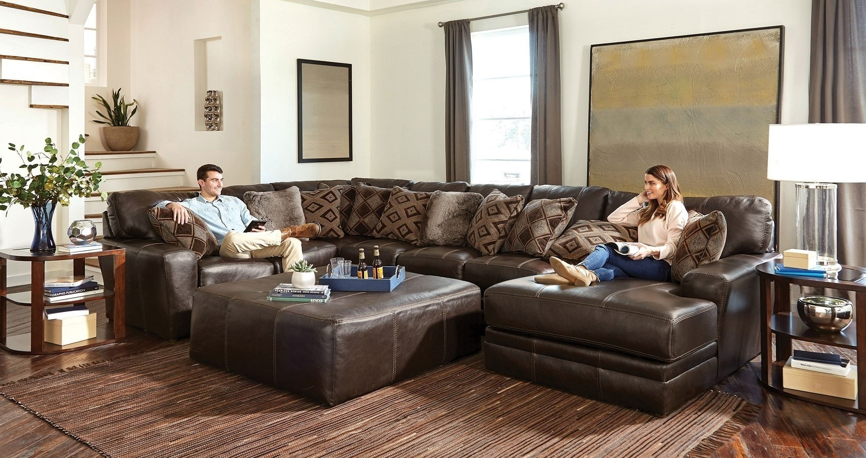 Denali Modular Sectional (Chocolate) Jackson Furniture, 1 Reviews With Regard To Denali Charcoal Grey 6 Piece Reclining Sectionals With 2 Power Headrests (Image 17 of 25)