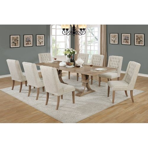 Denville 9 Piece Dining Set | Furniture | Pinterest | Dining, Dining With Regard To Partridge 6 Piece Dining Sets (Image 12 of 25)