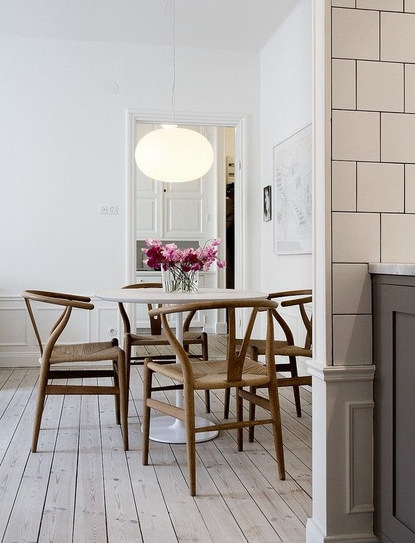 Design, Decoded: Hans Wegner And The Wishbone Chair | Interior Pertaining To Lassen 5 Piece Round Dining Sets (View 16 of 25)