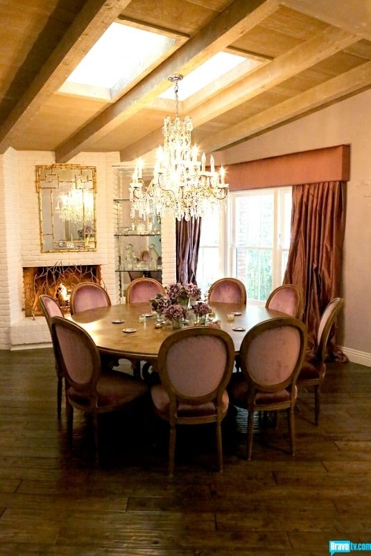 Design | House Interiors & Exteriors | Pinterest | Home, House And With Palazzo 7 Piece Dining Sets With Mindy Slipcovered Side Chairs (View 11 of 25)