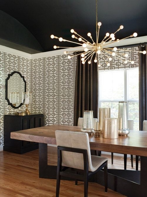 Design Under The Influence: The Sputnik Chandelier | Luminaires Pertaining To Dining Tables Ceiling Lights (Image 7 of 25)
