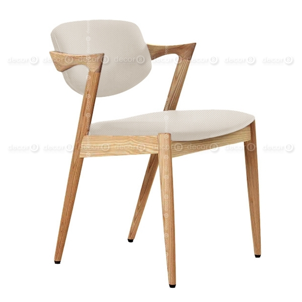 Designer Chair Hong Kong – Kai Oak Fabric Dining Chair – Oak Finish Inside Oak Fabric Dining Chairs (Image 10 of 25)