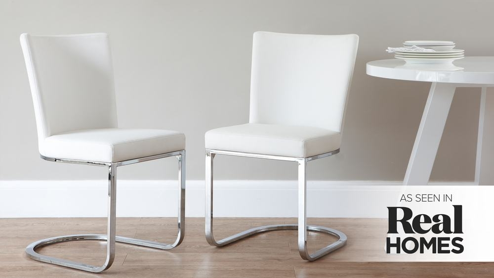 Featured Image of Chrome Dining Chairs