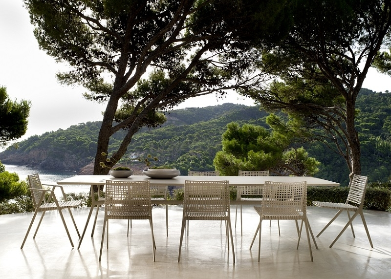 Designer Garden Furniture For Outdoor Living & Dining Rooms | Archi Pertaining To Garden Dining Tables And Chairs (View 4 of 25)