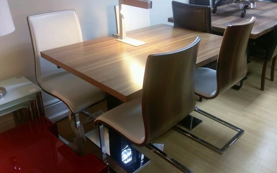 Designer Mark Webster Havana Dining Table And 4 Chairs | In Throughout Havana Dining Tables (Image 4 of 25)