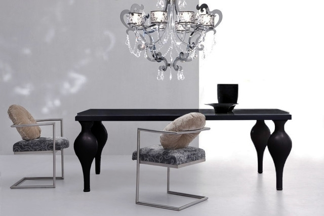Devereaux – Black Dining Table For Black Dining Tables (Image 11 of 25)