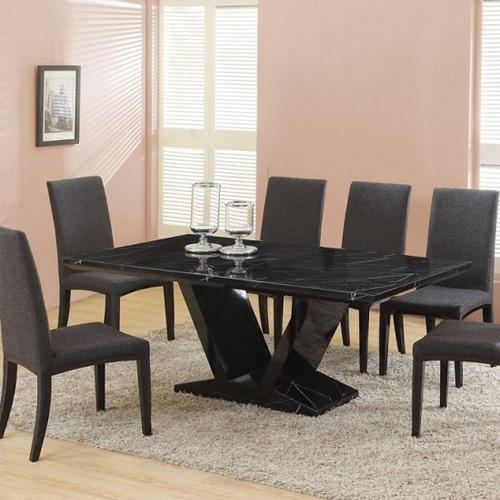 Diamond Black Stone Dining Table, Rs 15000 /piece, Diamond With Stone Dining Tables (View 14 of 25)