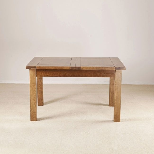 """Dijon 4'6"""" Extending Dining Table Intended For Extending Dining Tables (Image 7 of 25)"""