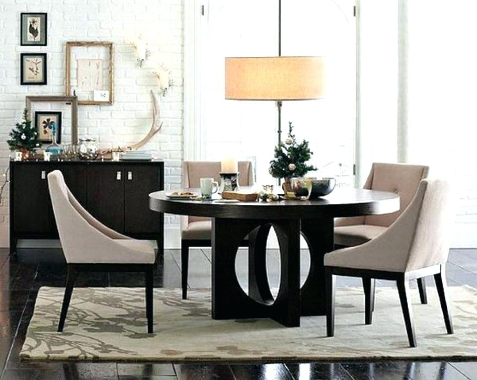 Dinette Sets For 6 Round Kitchen Table Modern Dining Suites Black Within Modern Dining Suites (Image 3 of 25)