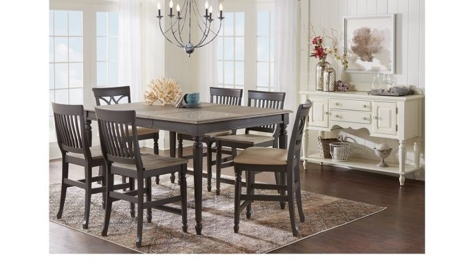 Dining: Alluring Cindy Crawford Dining Room Set For Your Dining Room Within Crawford 6 Piece Rectangle Dining Sets (View 24 of 25)