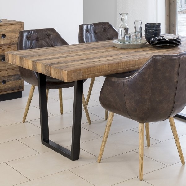Dining Chair | Leather Chair | Curiosity Interiors Inside Benson Rectangle Dining Tables (Image 12 of 25)