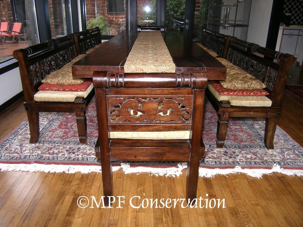 Dining Chairs Reupholster Upholster Conservation Portland Oregon Intended For Bali Dining Sets (Image 13 of 25)
