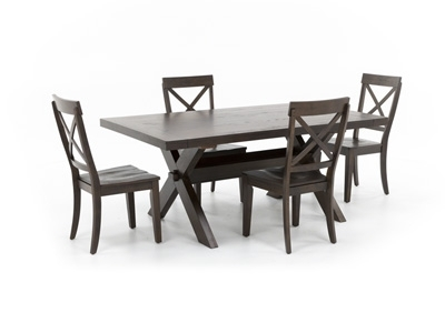 Featured Image of Laurent 7 Piece Rectangle Dining Sets With Wood Chairs