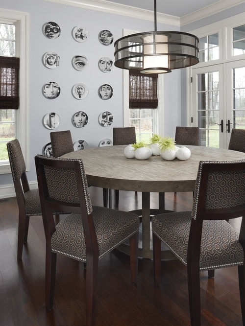 Dining Furniture – Large Wooden Dining Table – Home Decor Ideas For Huge Round Dining Tables (Image 5 of 25)