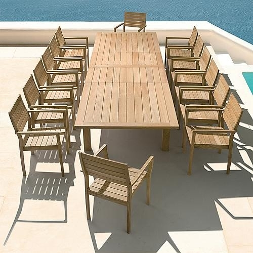Dining Furniture Outdoor | Home Decoration Club Regarding Extending Outdoor Dining Tables (View 10 of 25)