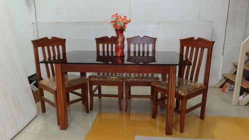 Dining – Hole Dining With 4 Chairs (Mica Top) Wholesale Supplier Within Wooden Glass Dining Tables (Image 3 of 25)