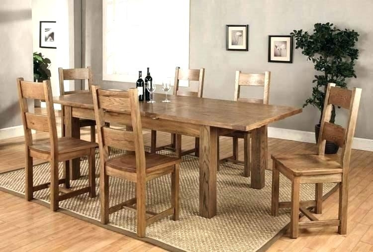 Dining Room 6 Chairs Round Table That Seats 6 Black Extendable Inside Extendable Dining Table And 6 Chairs (Image 6 of 25)