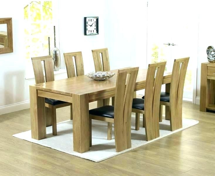 Dining Room 6 Chairs Round Table That Seats 6 Black Extendable Intended For Dining Tables And 6 Chairs (Image 12 of 25)