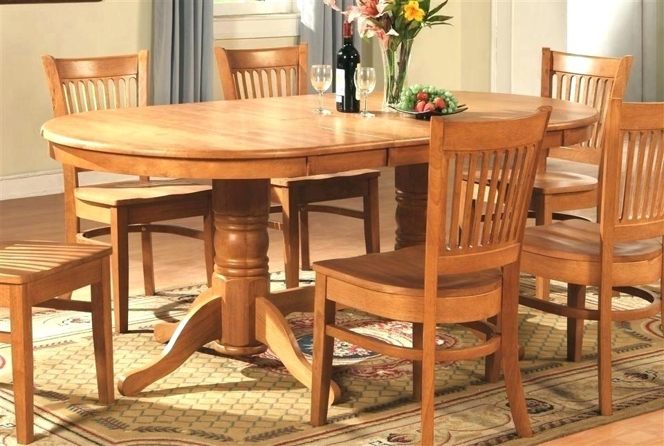 Dining Room Chairs Oak Perfect Decoration Oak Dining Table And With Light Oak Dining Tables And Chairs (Image 4 of 25)