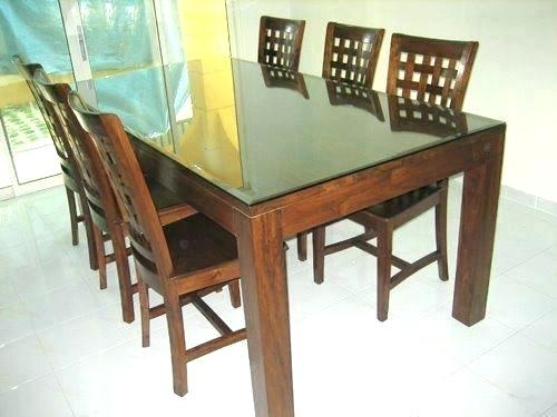 Dining Room Chairs Set Of 6 6 Chair Table Set Dining Room Chair Sets Throughout 6 Chair Dining Table Sets (View 10 of 25)