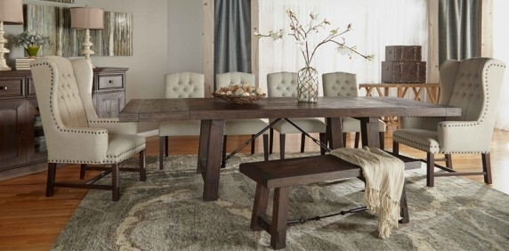 Dining Room Collections – Dining Room In Extending Rectangular Dining Tables (View 13 of 25)