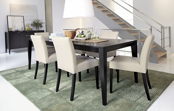 Dining Room Design: Dark Wooden Expandable Dining Table, Dining With Regard To Dining Tables Dark Wood (Image 14 of 25)