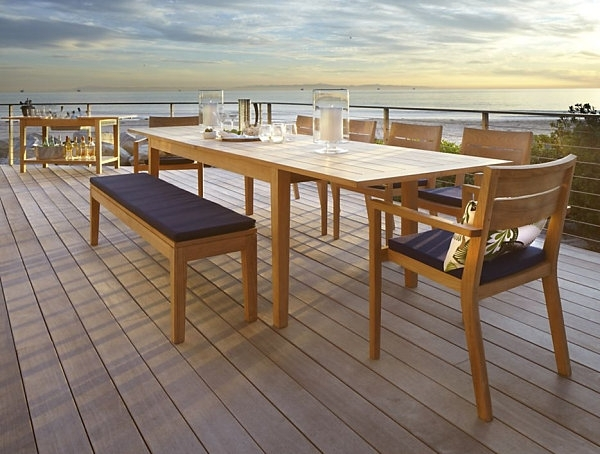 Dining Room Design: Expandable Outdoor Dining Table, Dining Tables Throughout Outdoor Extendable Dining Tables (Image 7 of 25)