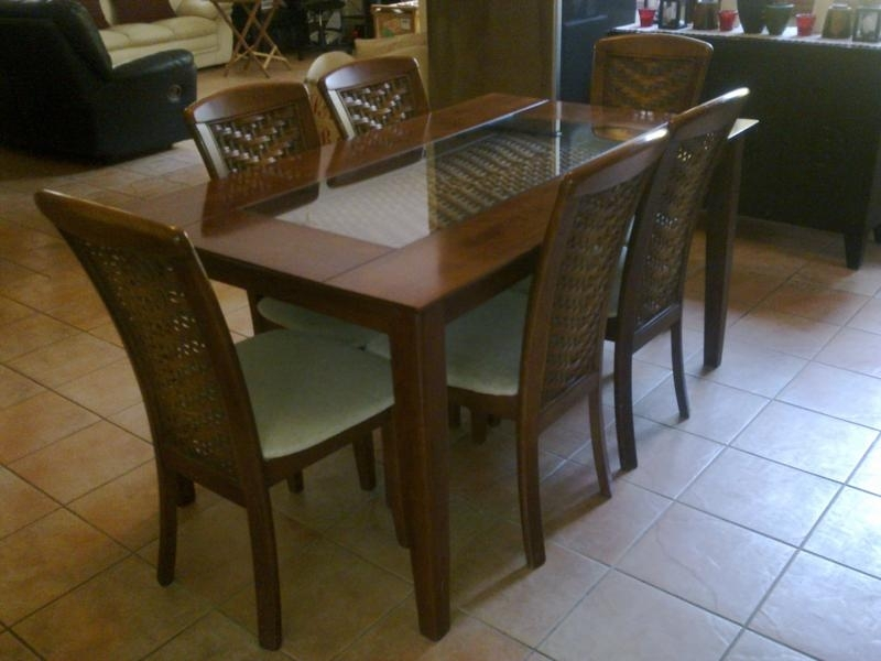 Dining Room Designs: Manila Cheap Dining Room Set 6 Chairs, Adjust For Cheap Dining Sets (View 12 of 25)