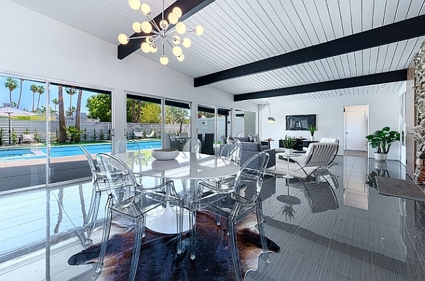 Dining Room Designs: Stunning Contemporary White Round Dining Table Within Acrylic Round Dining Tables (View 11 of 25)